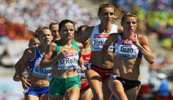 Hatti Dean participating in the European Athletics Championships 2010